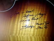 My Hofner signed by Sir George